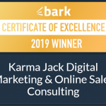 certificate of excellence from bark 2019 winner get more customers