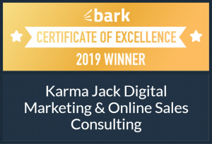 certificate of excellence from bark 2019 winner