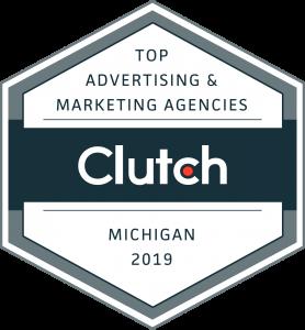 KARMA jack digital marketing named top marketing and advertising agency award, Michigan marketing company, advertising, social media