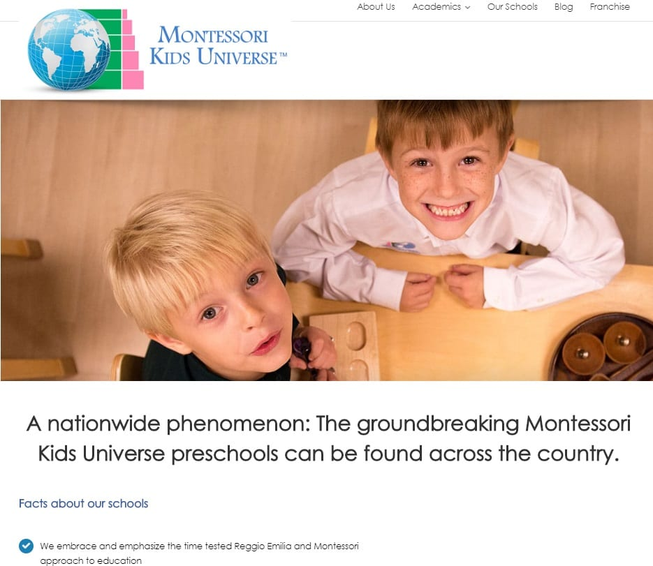 montessori franchise before karma jack picture