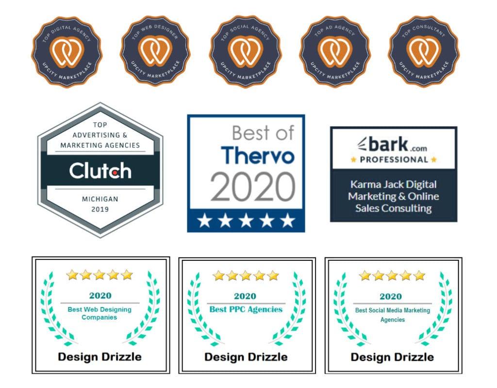 top digital marketing agency awards - KARMA jack Digital Marketing Agency