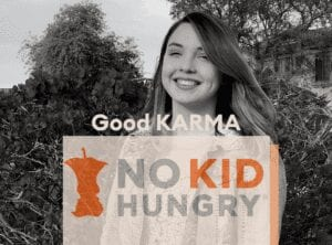 Good KARMA donation to No Kid Hungry