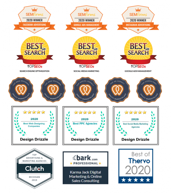 KARMA jack Digital Marketing Awards